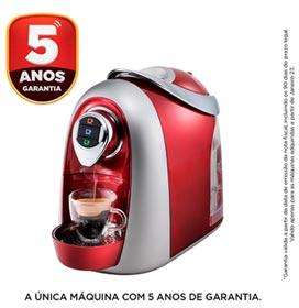 Máquina de Café Espresso Tres Modo S04 Multibebidas Vermelha - 20038905