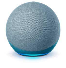 Echo (4a geração) Smart Speaker Casa Inteligente e Alexa - Azul