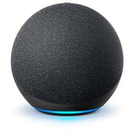 Echo (4a geração) Smart Speaker Amazon Casa Inteligente e Alexa - Preta