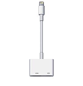 Adaptador de Lightning para AV Digital Branco Apple - MD826BZA
