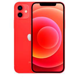 """iPhone 12 Mini Vermelho, Tela de 5,4"""", 5G, 256 GB e Câmera Dupla de 12MP Ultra-angular + 12MP Grande-angular - MGEC3BZ/A"""