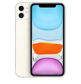 """iPhone 11 Branco, com Tela de 6,1"""", 4G, 256 GB e Câmera de 12 MP  - MHDQ3BR/A"""