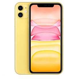"""iPhone 11 Amarelo, com Tela de 6,1"""", 4G, 256 GB e Câmera de 12 MP - MHDT3BR/A"""