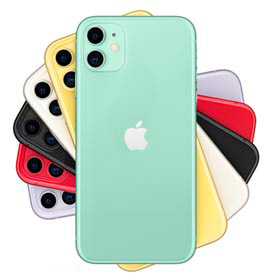 "iPhone 11 Verde, com Tela de 6,1"", 4G, 256 GB e Câmera de 12 MP - MHDV3BZ/A"