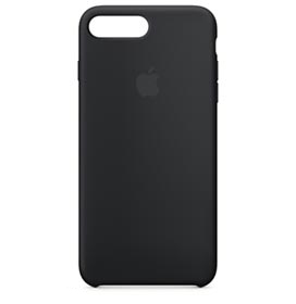 Capa para iPhone 7 Plus de Silicone Preta - Apple - MMQR2ZM / A