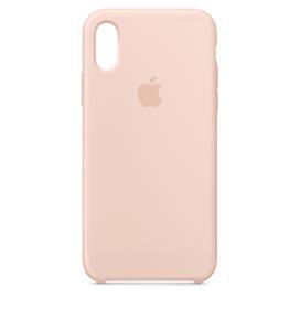 Capa para iPhone XS de Silicone Areia Rosa - Apple - MTF82ZM/A