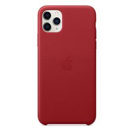 Capa para iPhone 11 Pro Max de Couro Vermelho - Apple - MX0F2ZM/A