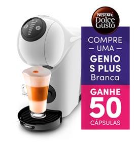 Cafeteira Arno Dolce Gusto Genio S Basic Branca para Café Espresso - DGS1 - Fastshop BR