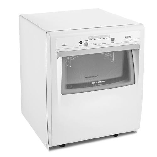 Lava-Louças com 08 Serviços Ative Brastemp com Painel Digital Branco - BLF08AB