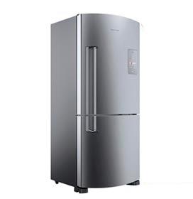 Refrigerador Inverse de 02 Portas Frost Free Brastemp com 573 Litros Platinum - BRE80A