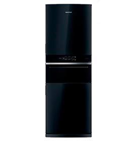 Refrigerador Inverse Brastemp de 03 Portas Frost Free com 419 Litros com Freeze Control Pro Preto - BRY59BE