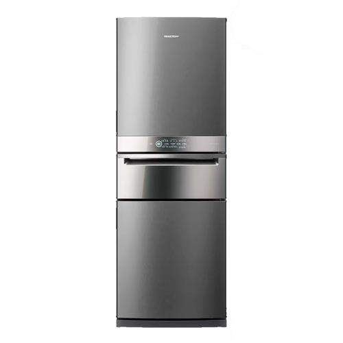 Refrigerador Inverse Brastemp de 03 Portas Frost Free com 419 Litros com Freeze Control Pro Inox - BRY59BK