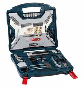 Kit Ferramentas com 103 Peças Bosch - X-Line 103