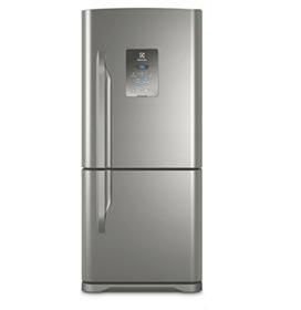 Refrigerador Bottom Freezer Electrolux de 02 Portas Frost Free com 598 Litros Painel Eletrônico Inox - DB84X