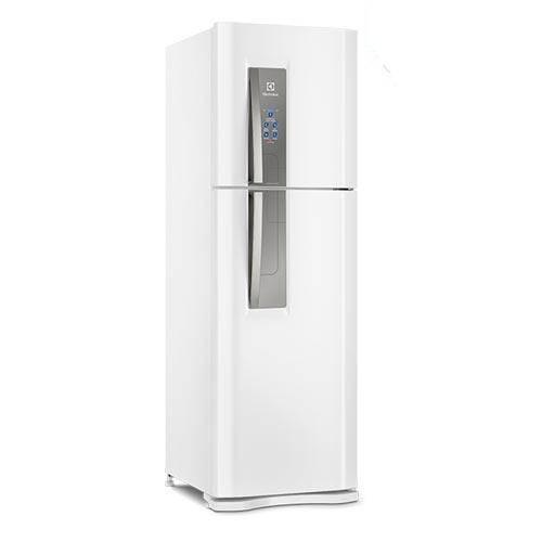 Refrigerador Top Freezer Elexctrolux de 02 Portas Frost Free com 402 Litros com Icemax Branco - DF44