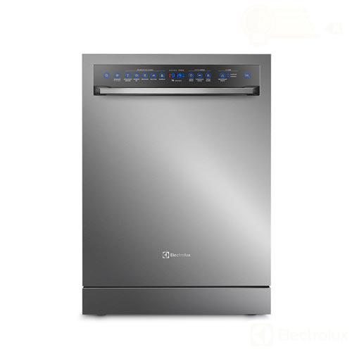 Lava-Louças Electrolux Home Pro Inox com 14 Serviços, 7 Programas de Lavagem e Painel Digital - LP14X