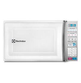 Micro-ondas Electrolux com 27 Litros de Capacidade e Função Tira Odor Branco - MB37R
