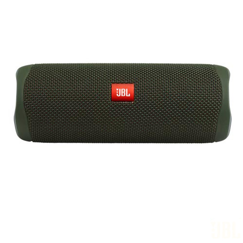 Caixa de Som Bluetooth JBL Flip 5 com 20W para Android, iOS e Windows Phone Verde
