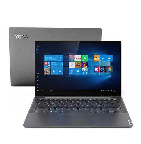 "Notebook Ultra Fino Lenovo, Intel® Core i7-1065G7, 8GB,256GB SSD, Tela 14"",GeForce® MX250 2GB - Yoga S740 - 81RM0004BR"