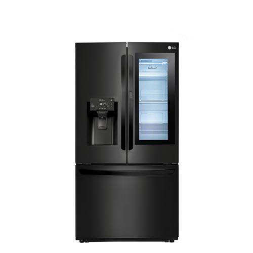 Refrigerador Frech Door LG de 03 Portas Frost Free com 525 Litros, Instaview Door-in-Door , Aço Escovado - GR-X228NMS