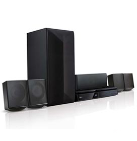 Home Theater Lg Com Blu - ray 3d, 5.1 Canais E 1000 Watts - Lhb625m
