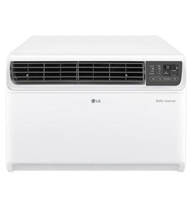 Ar Condicionado Janela Dual Inverter Voice LG com 14.000 BTUs, Frio com Controle Remoto, Branco - W3NQ15LNNP0.EC1AAMZ