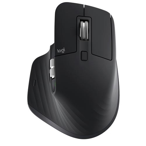 Mouse sem Fio MX Master 3 Preto - Logitech