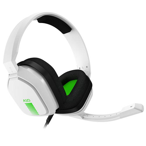 Headset Gamer Astro A10 Branco e Verde para PS4
