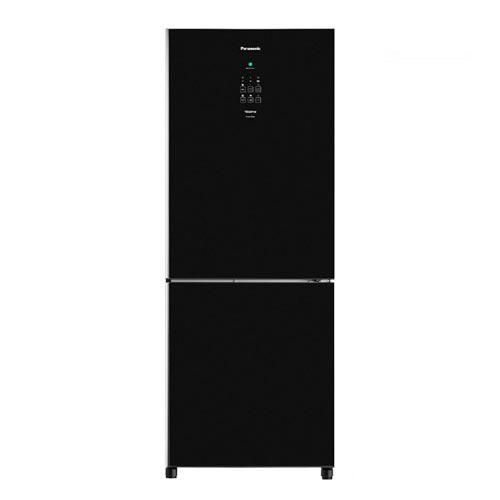 Refrigerador Bottom Freezer Inverter Panasonic de 02 Portas Frost Free com 425 Litros e Painel Easy Touch Preto - BB53