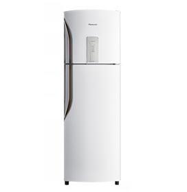 Refrigerador de 02 Portas Panasonic ReGeneration Frost Free com 387 Litros Branco - NR-BT40BD1W