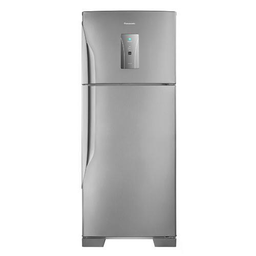 Refrigerador de 02 Portas Panasonic Frost Free com 435 Litros com Degelo Automático Aço Escovado - NR-BT50BD3X