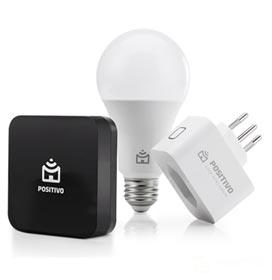 Kit Casa Conectada Positivo com Smart Controle IR, Smart Lâmpada, Smart Plug - 11140161