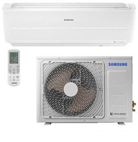 Ar Condicionado Split Digital Inverter Wind Free Samsung, 18.000 BTUs, Quente e Frio, Branco - AR18NSPXBWK