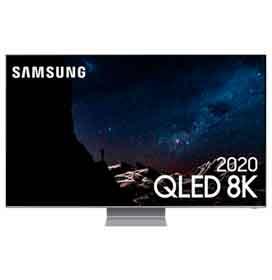"""Samsung Smart TV QLED 8K Q800T 65"""", Processador com IA, Borda Infinita, Alexa built in, Som em Movimento"""