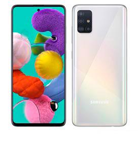 """Samsung Galaxy A51 Branco, com Tela de 6,5"""", 4G, 128 GB e Câmera Quádrupla de 48MP+12MP+5MP+5MP - SM-A515FZWBZTO"""